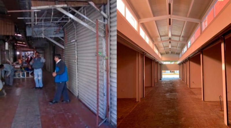 Se rehabilitó por completo el espacio de 100 locatarios: