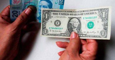 Sigue el peso por buen camino; el dólar, por debajo de los $20