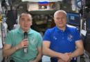 Cosmonautas rusos felicitan a México por su Independencia desde la EEI